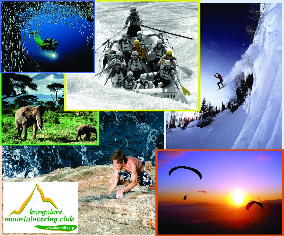 Bangalore Mountaineering Club. BMC Adventures